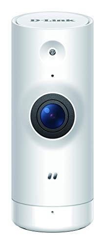 D-Link DCS-8000LHV2 Mini Full HD Wi-Fi Kamera (Alexa, Google und IFTTT kompatibel, Personenerkennung, Bewegungs- und Geräuscherkennung, 1080p, Tag und Nacht, 138° Blickwinkel, Fern-Zugriff per App)