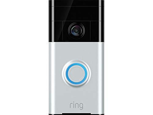Ring Video Doorbell | Video Türklingel 720p HD-Video, Gegensprechfunktion, Bewegungsmelder und WLAN