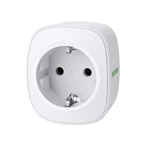 VOCOlinc Smart Plug Wi-Fi Steckdose funktionieren mit HomeKit (iOS13 or +) Alexa & Google Assistant Energieüberwachung Timer Kein Hub erforderlich 10A 2300W 2.4GHz (1)