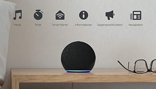 Der neue Echo Dot (4. Generation) | Smarter Lautsprecher mit Alexa | Anthrazit