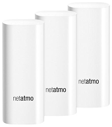 Netatmo DTG01-EUS-A Tags, weiß, 3 Stück