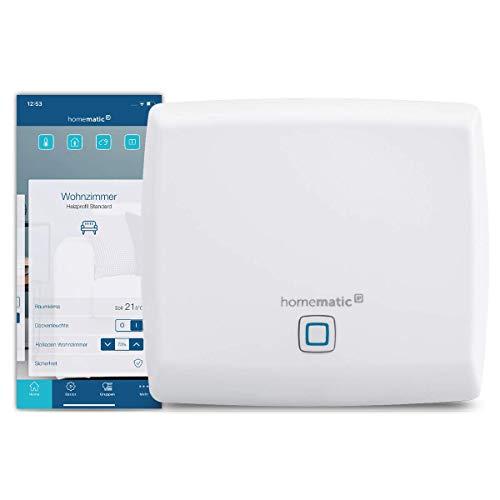 Homematic IP Access Point - Smart Home Gateway mit kostenloser App und Sprachsteuerung über Alexa, 140887A0