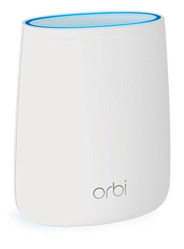 NETGEAR Orbi RBR20 High Speed WLAN Router (2.200 MBit/s Geschwindigkeit, bis 125 m² Abdeckung - mit Orbi-Satelliten zu Mesh-System erweiterbar, inkl 30 Tage Circle Kinderschutz und Armor Cyberschutz)