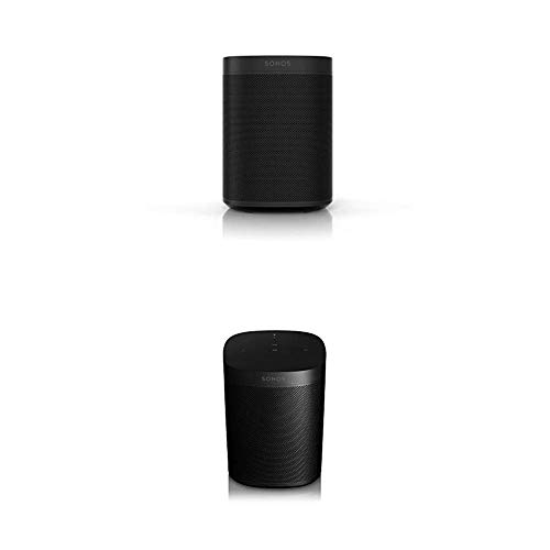 Sonos One Multiroom Set, schwarz (inkl. Sonos One Smart Speaker und Sonos One SL All-In-One Smart Speaker)