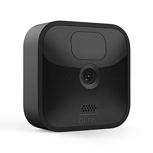 Die neue Blink Outdoor – kabellose, witterungsbeständige HD-Sicherheitskamera mit zwei Jahren Batterielaufzeit und Bewegungserfassung   System mit einer Kamera
