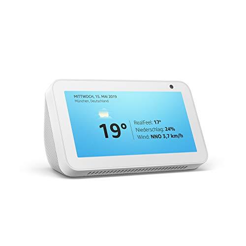 Wir stellen vor: Echo Show 5 – kompaktes Smart Display mit Alexa, Weiß