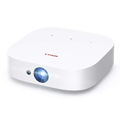 Anker NEBULA Solar FHD 1080p Projektor, Dolby Digital Plus, 2X 3W Lautsprecher, Android TV, integrierte Halterung, Autofokus, Trapezkorrektur, Digitaler Zoom, Bildschirmübertragung für Smartphones