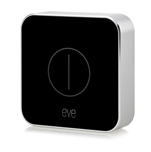 Eve Button - Smarte Fernbedienung zur direkten Steuerung von HomeKit-Geräten & Szenen (Deutsche Markenqualität), kompakt, portabel, Bluetooth Low Energy (Apple HomeKit)