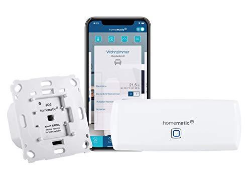 Homematic IP WLAN Access Point + Rollladenaktor für Markenschalter
