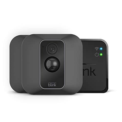 Blink XT2 – Smarte Sicherheitskamera| Für den Außen- und Innenbereich mit Cloud-Speicher, Zwei-Wege-Audio und 2-jähriger Batterielaufzeit | System mit zwei Kameras