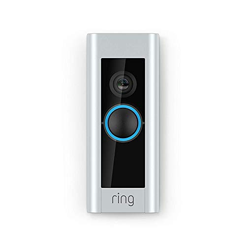 Ring Video Doorbell Pro | Video Türklingel Pro Set mit Türgong und Transformator, 1080p HD-Video, Gegensprechfunktion, Bewegungsmelder, WLAN