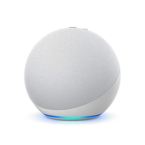 Der neue Echo (4. Generation) | Mit herausragendem Klang, Smart Home-Hub und Alexa | Weiß