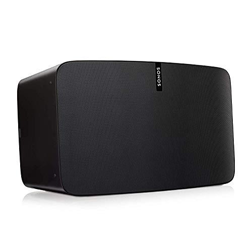 Sonos Play:5 WLAN Speaker (Kraftvoller WLAN Lautsprecher mit bestem, kristallklarem Stereo Sound – AirPlay kompatibler Multiroom Lautsprecher) schwarz
