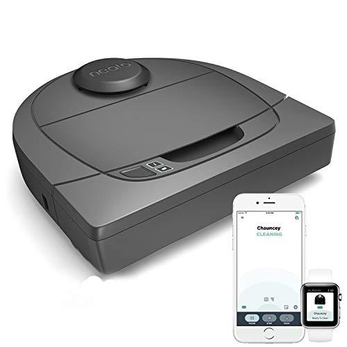 Neato Robotics Botvac D301 Connected - Saugroboter Alexa-kompatibel & für Tierhaare - Staubsauger Roboter mit Ladestation, Wlan & App-Steuerung