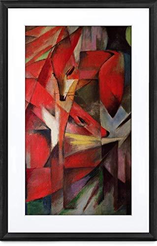 MEURAL Canvas II MC321BL Smart Art Digitale HD-Leinwand (Schwarzer Rahmen, 21,5 Zoll, Gemälde und Fotografien werden in naturgetreuen Details wiedergegegeben, WLAN mit App, von Netgear)