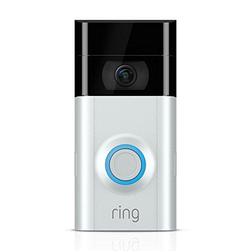 Ring Türklingel 2 - WLAN, HD Video, Bewegungserkennung, Wechselbarer Akku und Nachtsicht