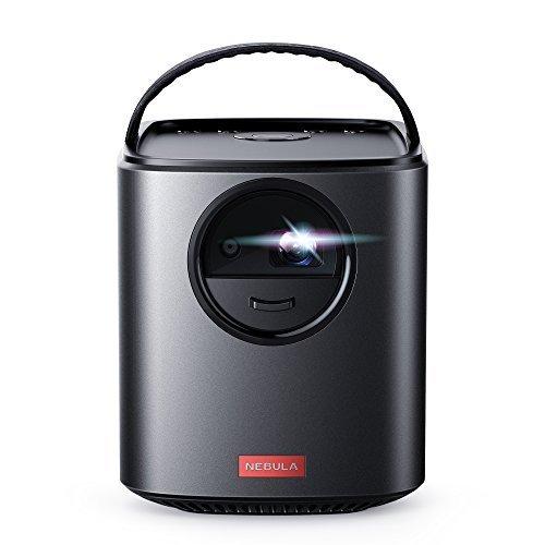 Nebula Mars II Beamer von Anker, Tragbarer Projektor mit 720p DLP Bildqualität, Duale 10W Lautsprecher, Android 7.1 OS, Sekundenschneller Autofokus, 30 - 150 Zoll Display