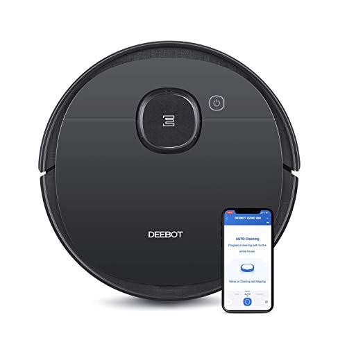 Ecovacs Deebot OZMO 950 Saug- & Wischroboter – 2-in-1 Staubsauger-Roboter mit Wischfunktion & intelligenter Navigation – Mit Google Home, Alexa- & App-Steuerung