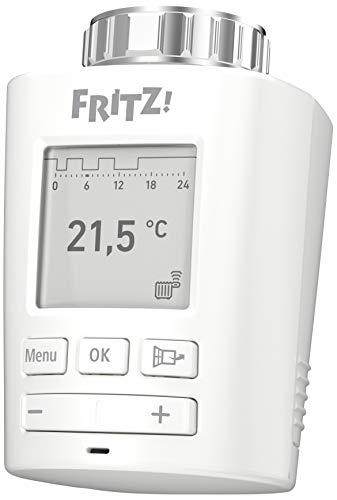 AVM FRITZ!DECT 301 (Intelligenter Heizkörperregler für das Heimnetz, für alle gängigen Heizkörperventile und FRITZ!Box mit DECT-Basis, FRITZ!OS ab Version 6.83)