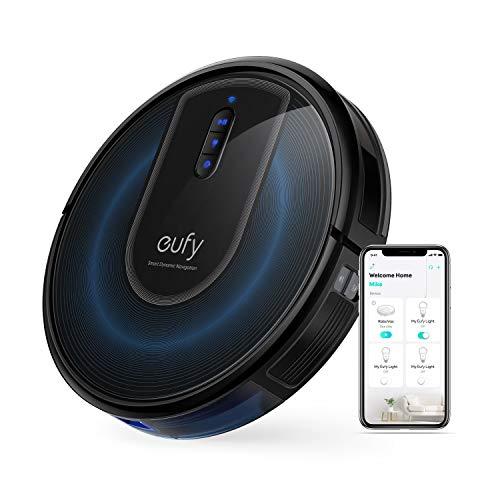 eufy RoboVac G30 von Anker, Saugroboter mit Smart Dynamic Navigation 2.0, Roboterstaubsauger mit 2000Pa Saugkraft, WLAN-Konnektivität, Kompatibel mit Alexa, Ideal für Teppiche und Hartböden