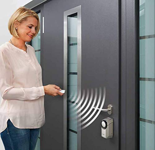 Hörmann SmartKey elektronisches Smart Türschloss'MADE IN GERMANY' Funk Türschlossantrieb Smart Lock WLAN (weiß)