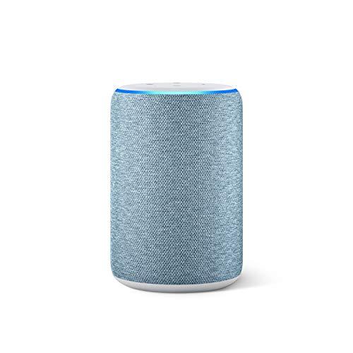 Amazon Echo (3. Generation), smarter Lautsprecher mit Alexa, Dunkelblau Stoff