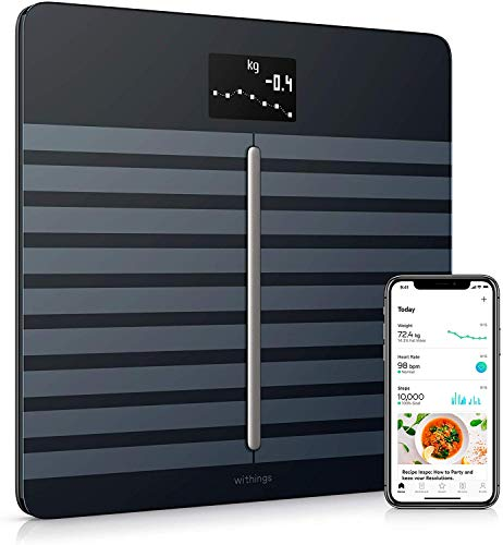 Withings / Nokia Body Cardio - WLAN-Personenwaage für Körperzusammensetzung & Herzgesundheit