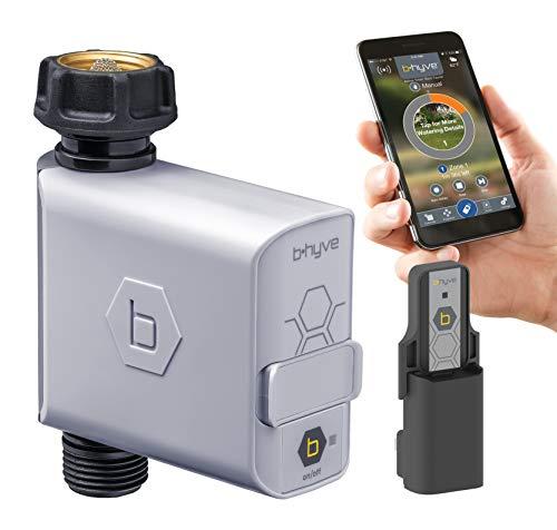 Orbit B-hyve 94990 Smart Timer Wi-Fi Hub, Compatible with Alexa Hose tap, grau
