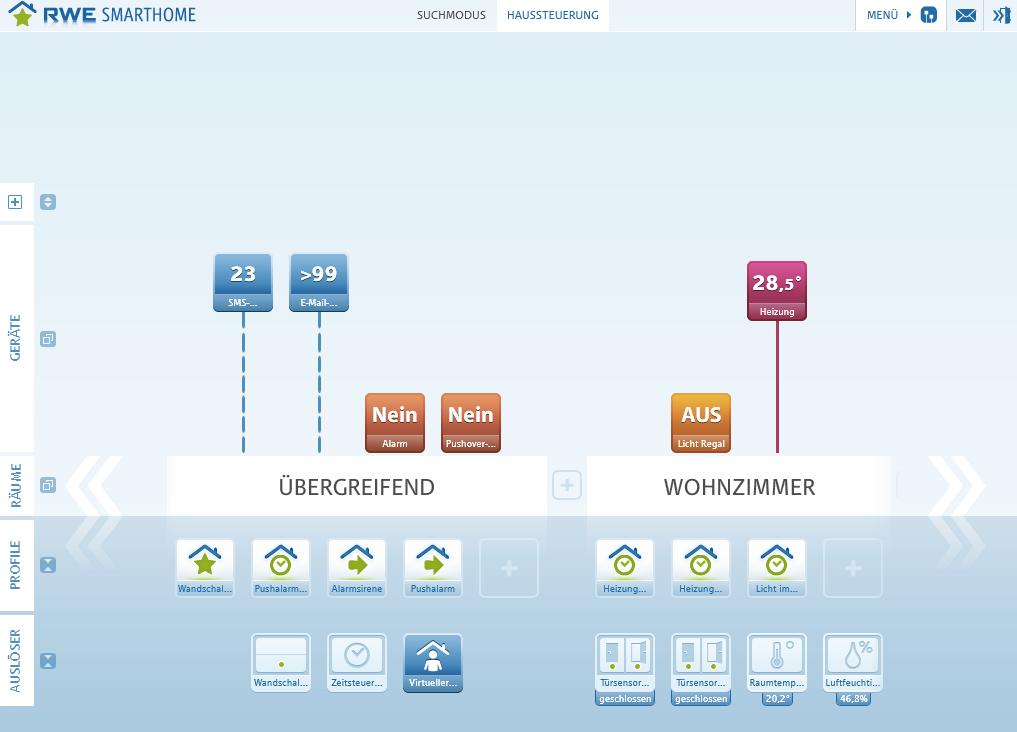 rwe smarthome starterpaket im test ger te funktionen und m glichkeiten housecontrollers