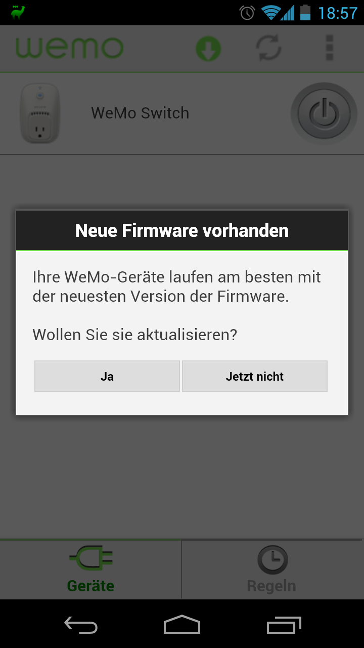 Belkin WeMo Update (Android)