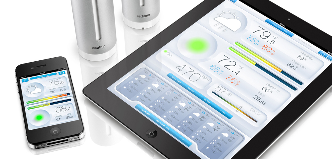 testbericht netatmo weather station housecontrollers. Black Bedroom Furniture Sets. Home Design Ideas