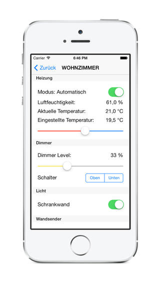 Inoffizielle RWE SmartHome App