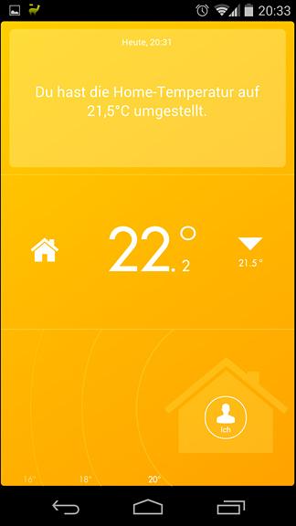 Tado App - alle zuhause