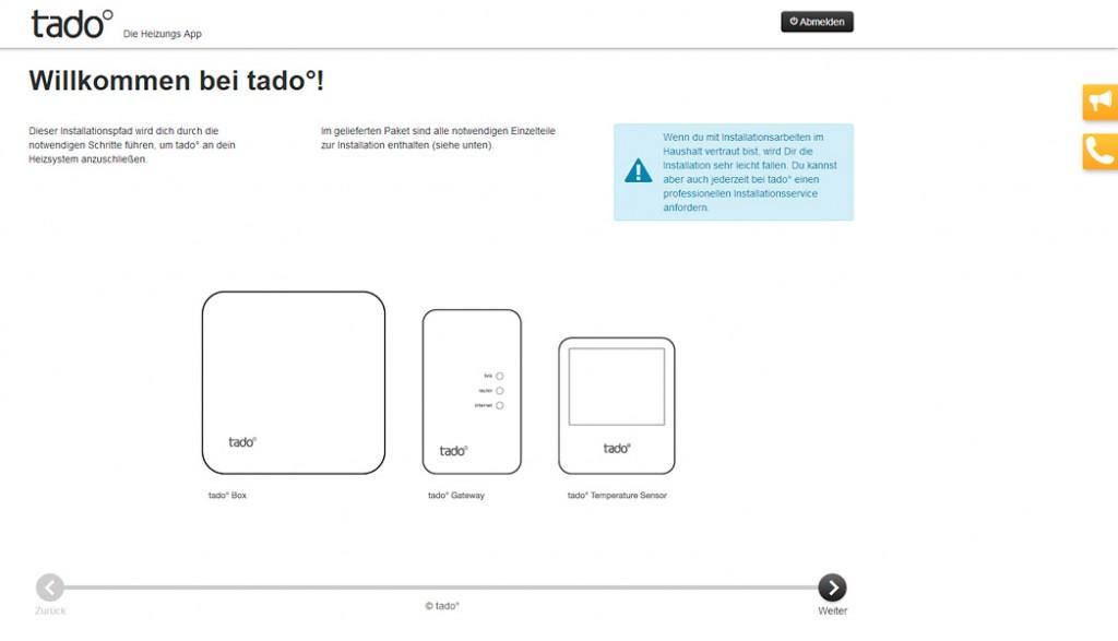 Tado - Schritt für Schritt Anleitung
