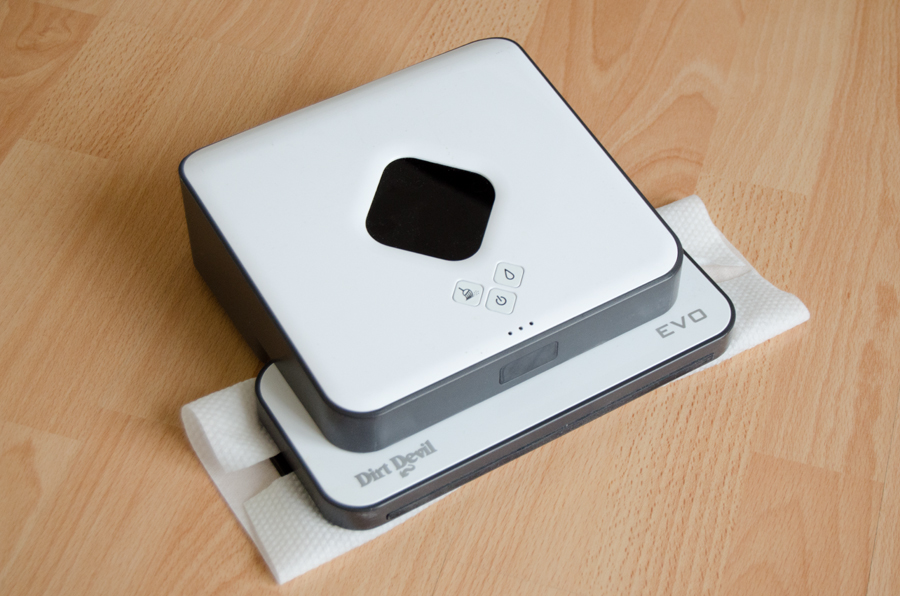 irobot braava 320 im test was leistet der wischroboter housecontrollers. Black Bedroom Furniture Sets. Home Design Ideas
