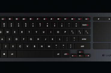 Wohnzimmer Tastatur | Logitech K400 Plus Neue Wohnzimmertastatur Mit Touchpad