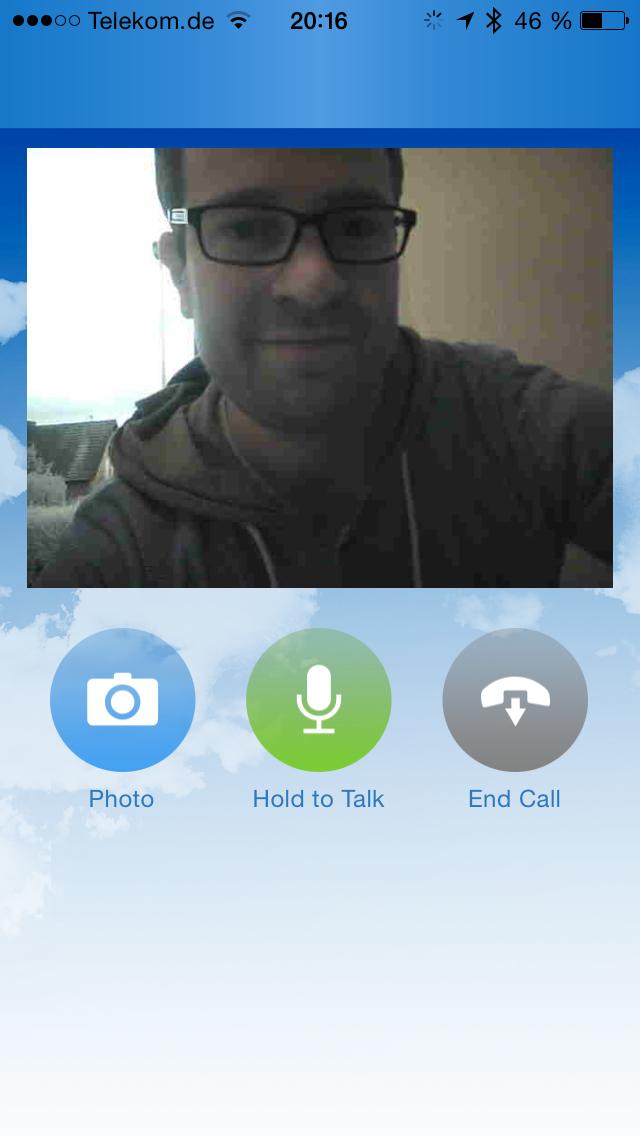 Screenshot: Skybell App