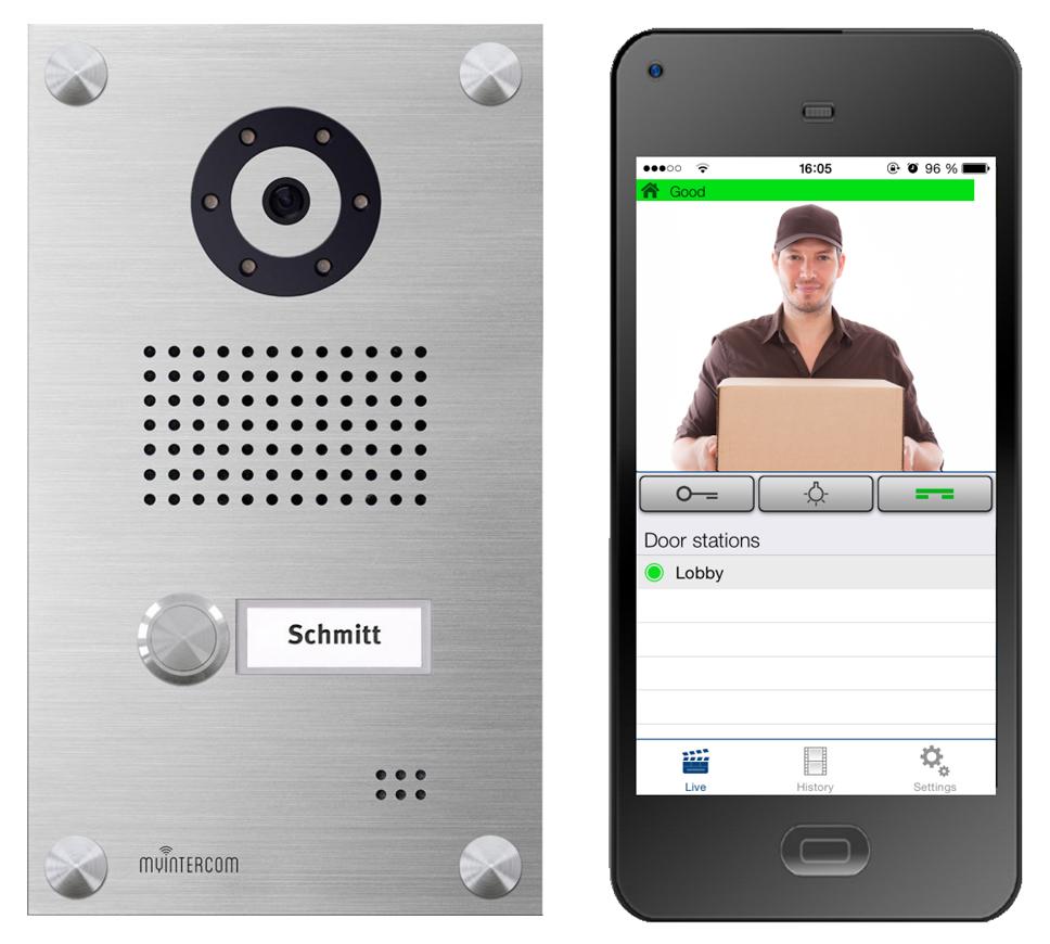 Gegensprechanlage für Smartphones (iPhone und Android)