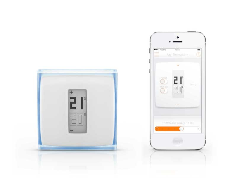 netatmo wlan thermostat steuert die heizung housecontrollers. Black Bedroom Furniture Sets. Home Design Ideas