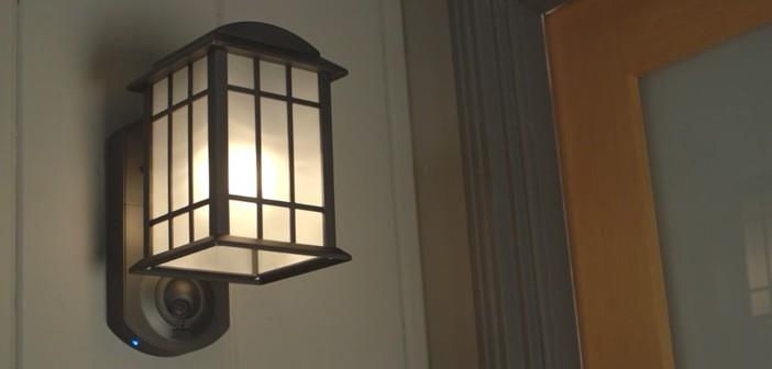 kuna aussenlampe mit wlan und ueberwachungskamera