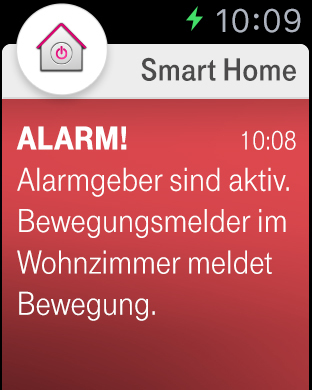 Smarthome App Apple Watch