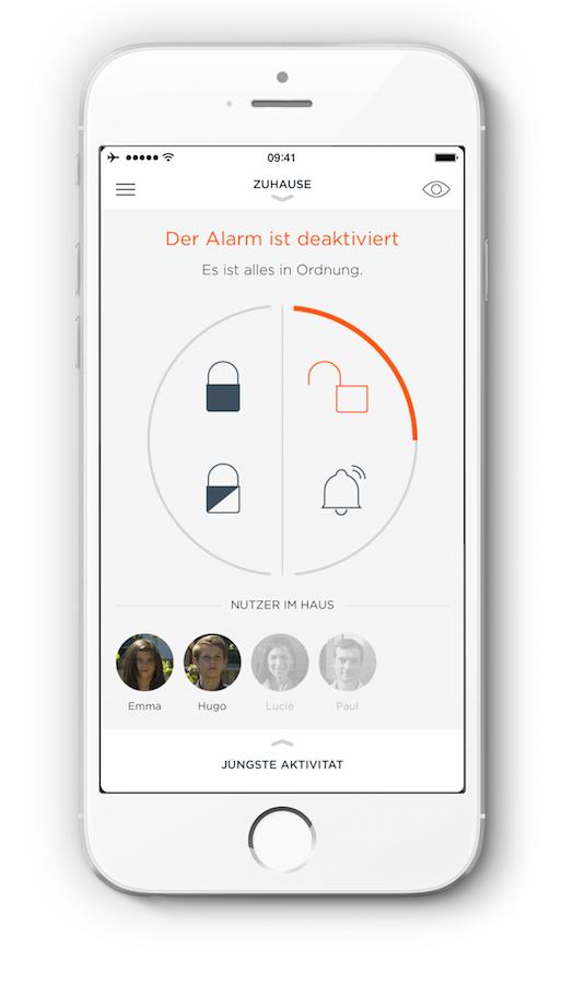 App für Alarmanlage