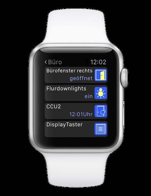 das smarthome auf der uhr die apple watch steuert jetzt. Black Bedroom Furniture Sets. Home Design Ideas