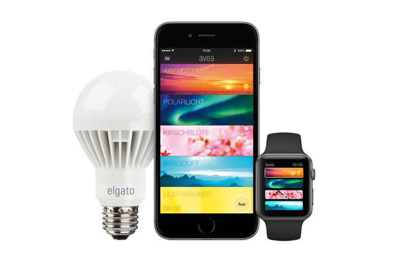 Elgato Avea - Lampe und App