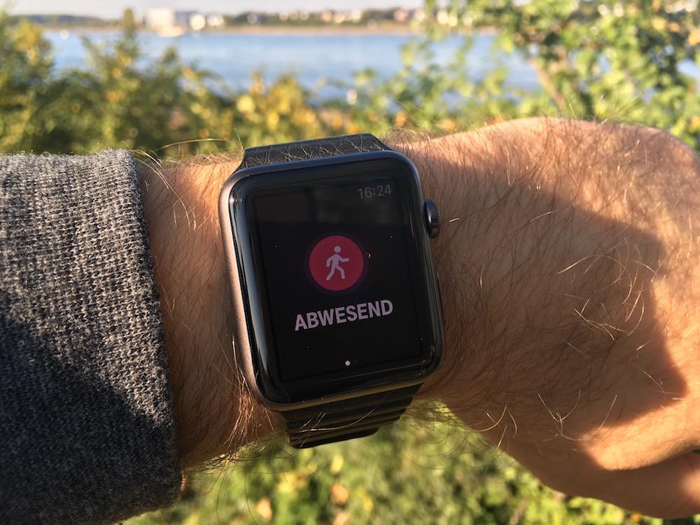 Qivicon Smarthome App auf der Apple Watch