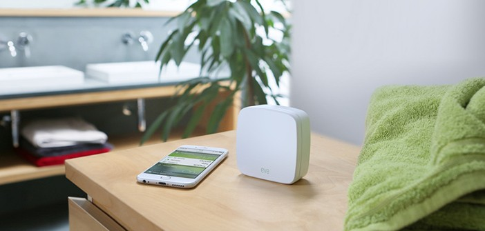 elgato eve klimasensoren mit apple homekit im test housecontrollers. Black Bedroom Furniture Sets. Home Design Ideas