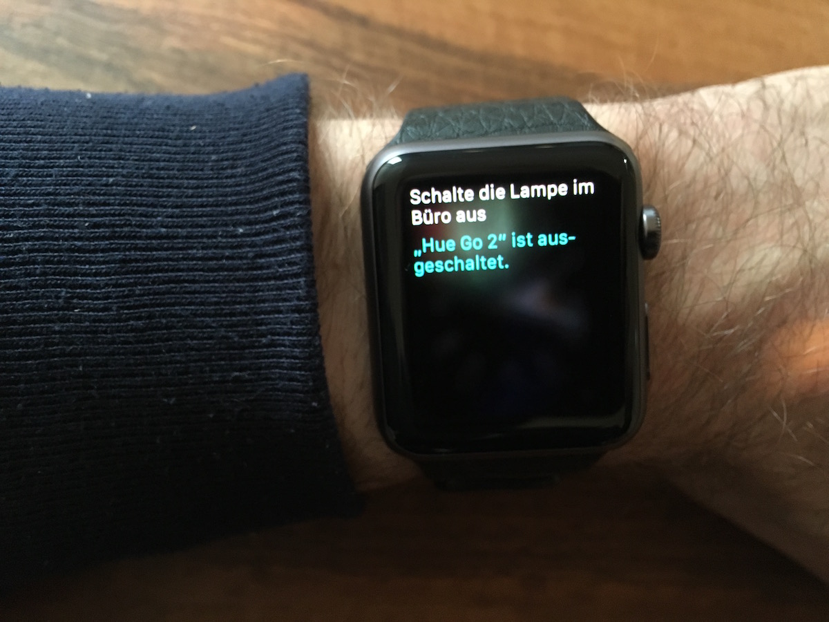 Apple Watch: Siri Sprachsteuerung