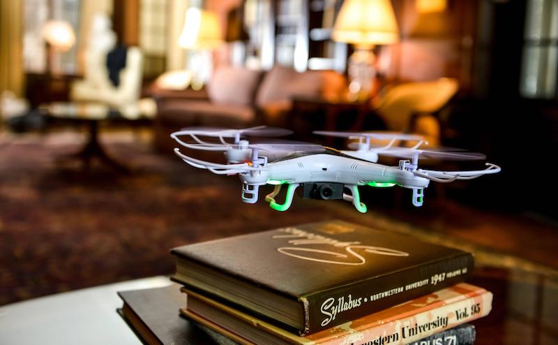Drohne als Überwachungskamera