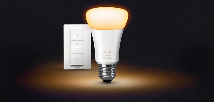 philips hue white ambiance neue hue lampe simuliert sonnenaufg nge housecontrollers. Black Bedroom Furniture Sets. Home Design Ideas