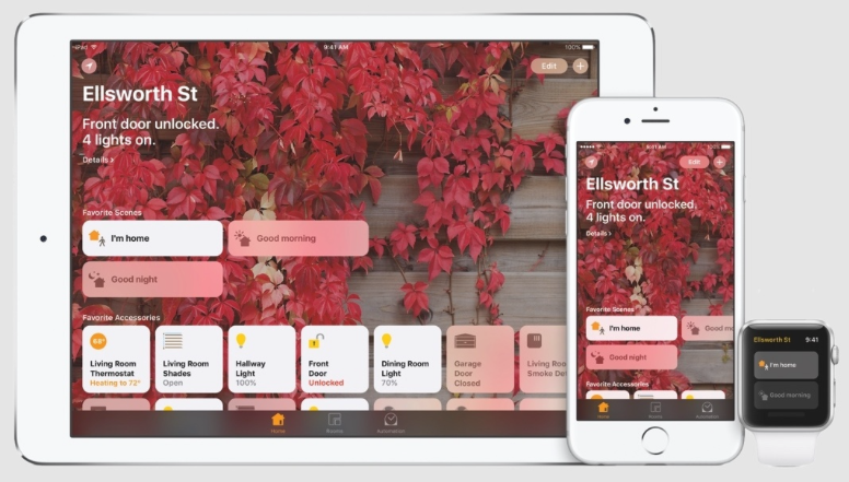 Apple HomeKit App Home